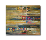 Indistinct   Abstract Wall Canvas Prints & Hand Paintings for Office