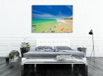 Beach Australia Sunshine Coast Art Print on the wall