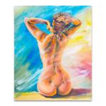 Beautiful Naked Woman Art Print