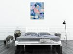 Li Zhou | French Blue 3 on the wall