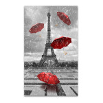 Eiffel Tower & Umbrellas