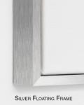 Silver Floating Frame