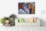 Perfect Horse Mate Canvas