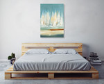 A Day to Sail I Wall Art Print, Lisa Ridgers on the wall