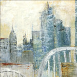 Abstract Cityscape III Wall Art Print