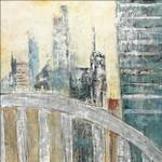 Abstract Cityscape IV Wall Art Print