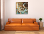 Circular Motion II Wall Art Print on the wall