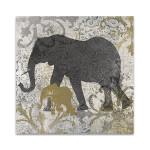 Elephants Exotiques Wall Art Print