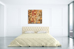 Flowers And Honey I Wall Art Print on the wall