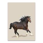 Fractal Horse Wall Art Print