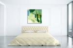 Spring Rain I Wall Art Print on the wall