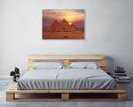 Egypt Giza Pyramids Wall Art Print on the wall