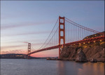 Golden Gate Span Wall Art Print