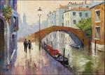 Venice Twilight Wall Art Print