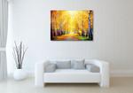 Autumn Sun Rays Wall Art Print on the wall