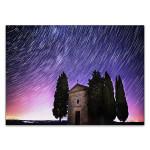 Tuscany Sky Star Trails Wall Art Print