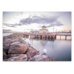 Melbourne Saint Kilda Pier Wall Art Print