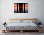 Sunset at Brighton Jetty Wall Art Print