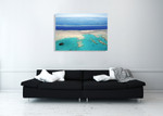 Great Barrier Reef Australia Wall Art Print on the wall