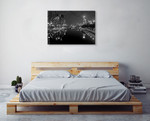 Yarra River Melbourne Wall Art Print on the wall