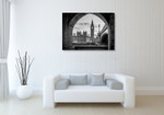 London Big Ben Tower Wall Art Print on the wall