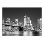 Skyline New York City Wall Art Print
