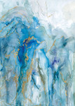 Abstract Lapis Wall Art Print