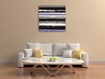 Blinds B Wall Art Print on the wall