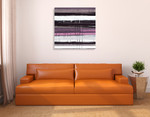 Blinds G Wall Art Print on the wall