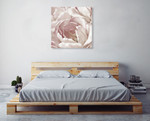 Intimate Blush II Wall Art Print on the wall