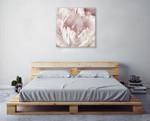 Intimate Blush III Wall Art Print on the wall