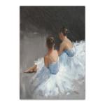 Ballerina Dancers I Wall Art Print