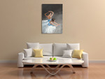 Ballerina Dancers II Wall Art Print on the wall