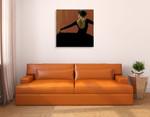 Lady Dancing Samba II Wall Art Print on the wall