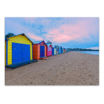 Australia Brighton Beach Wall Art Print