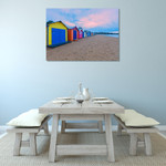 Australia Brighton Beach Wall Art Print on the wall