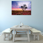 Australia Pilbara Region Wall Art Print on the wall