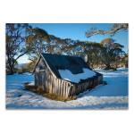 Australia Wallaces Hut Wall Art Print