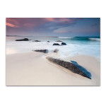 Australian Beach at Twilight Wall Print