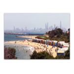 Brighton Beach Australia Wall Art Print