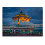 Brighton Blue Sky Wall Art Print