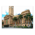 Brisbane City Hall Wall Art Print