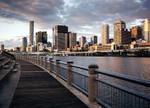 Brisbane City Skyline Wall Art Print
