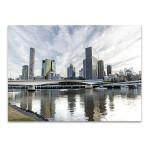 Brisbane River Wall Art Print