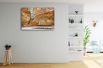 Cathedral Gorge Australia Wall Art Print on the wall