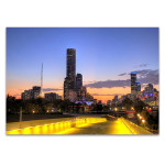 City of Melbourne Australia Wall Print