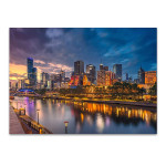 City of Melbourne Wall Art Print