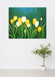 Flourish on the wall