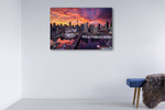 Darling Harbour Sydney Wall Art Print on the wall