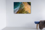 Dicky Beach Queensland Wall Art Print on the wall